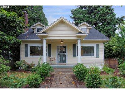 Portland Single Family Home For Sale: 1615 NE 50th Ave