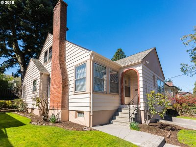 Portland OR Single Family Home For Sale: $569,000
