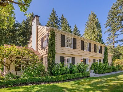 Portland Single Family Home For Sale: 1717 SW Highland Rd