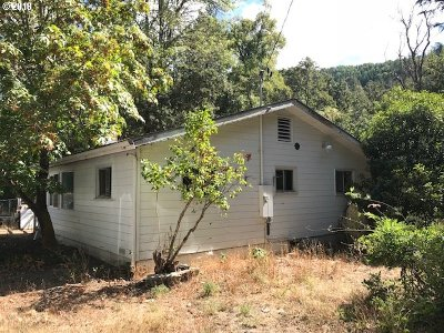 Roseburg Single Family Home For Sale: 5473 Buckhorn Rd