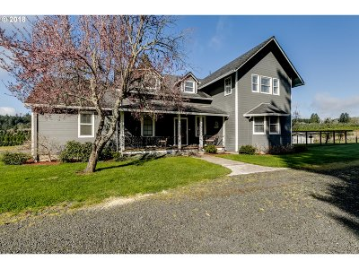 Junction City Single Family Home For Sale: 92300 Territorial Hwy