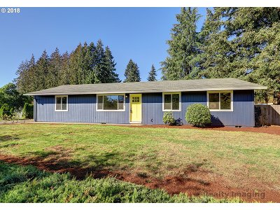 Sandy Single Family Home For Sale: 18135 Tupper Rd