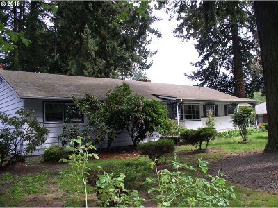Single Family Home For Sale: 550 NE 148th Ave