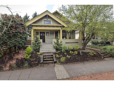Portland Single Family Home For Sale: 4203 N Vancouver Ave