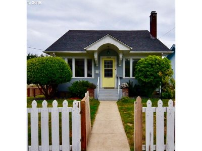 North Bend Single Family Home For Sale: 1405 Union