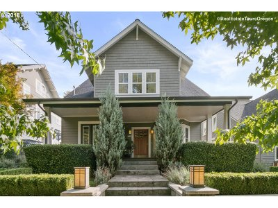 Portland Single Family Home For Sale: 2534 NE 13th Ave