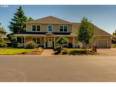 Keizer Single Family Home Sold: 858 Crystal Springs Ln