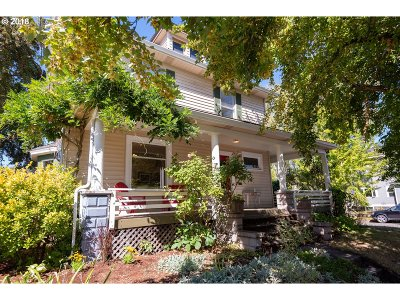 Portland Single Family Home For Sale: 7817 N Fiske Ave