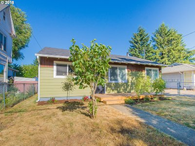 Portland Single Family Home For Sale: 9526 N Portsmouth Ave