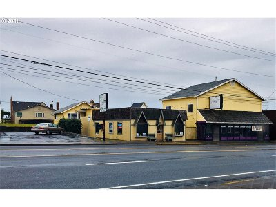 Lincoln City Commercial For Sale: 317 SW Hwy 101