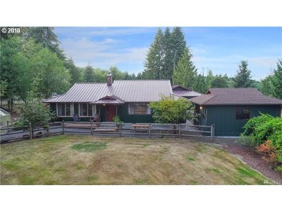 Cowlitz County Single Family Home For Sale: 400 Trout Lakes Rd