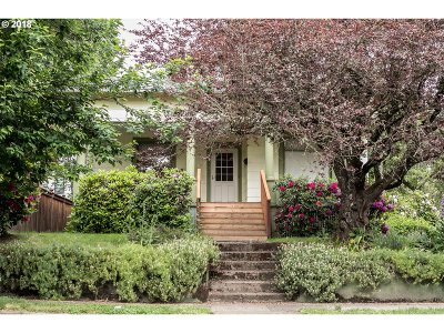 Portland Single Family Home For Sale: 634 SE 48th Ave