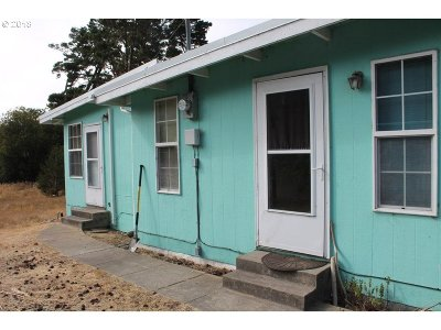 Florence Single Family Home For Sale: 88380 Hwy 101