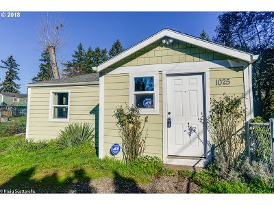 Single Family Home For Sale: 1025 SE 184th Ave