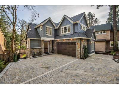 Lake Oswego Single Family Home For Sale: 4146 Lakeview Blvd