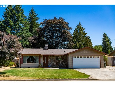 Canby Single Family Home Pending: 1050 N Lupine Ct