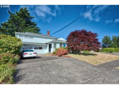 Coos Bay Single Family Home For Sale: 1606 Cottonwood Ave