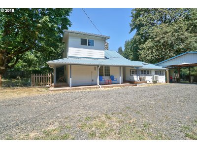 Single Family Home For Sale: 35215 SE Crescent Rd