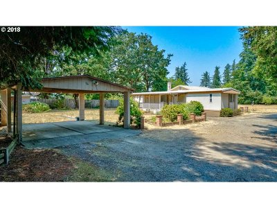 Aumsville Single Family Home For Sale: 12384 W Stayton Rd
