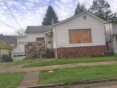Coos Bay Single Family Home For Sale: 435 S 9th