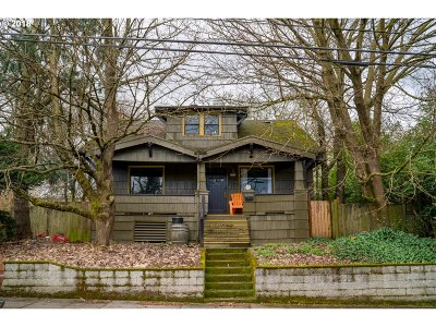 Clackamas County, Multnomah County, Washington County Single Family Home For Sale: 4506 NE Garfield Ave