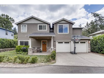 Lake Oswego Single Family Home For Sale: 4848 Lower Dr