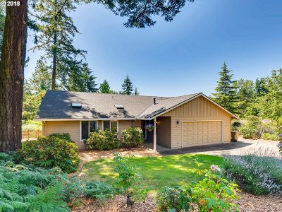 Lake Oswego Single Family Home For Sale: 1459 Greentree Cir