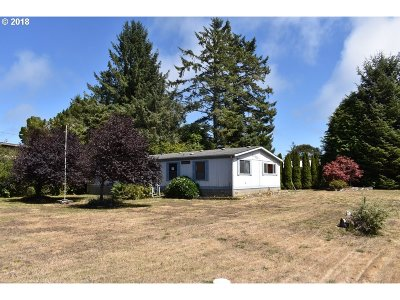 Coos Bay Single Family Home For Sale: 90839 Robertson Ln