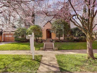 Single Family Home For Sale: 2510 NE Klickitat St