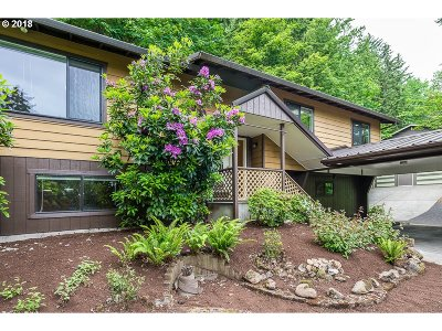 West Linn Single Family Home For Sale: 19184 View Dr