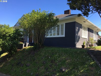 Single Family Home For Sale: 595 Hall