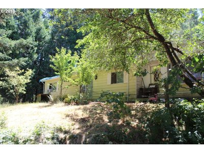 Cottage Grove, Creswell Single Family Home For Sale: 31330 Camas Swale Rd