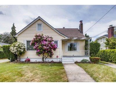 Portland Single Family Home For Sale: 5841 NE 17th Ave