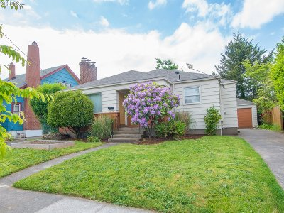 Single Family Home For Sale: 5515 SE 52nd Ave