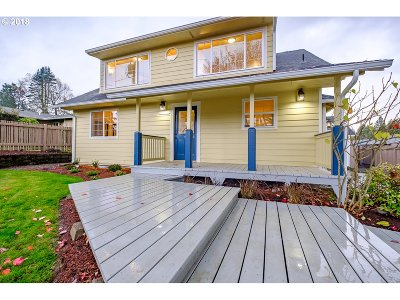 Keizer Single Family Home Sold: 5473 Newberg Dr