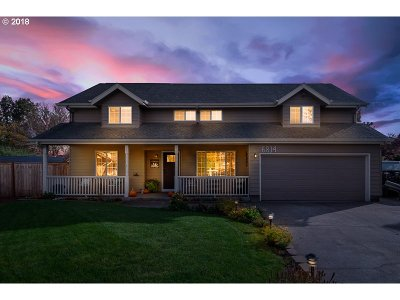 Keizer Single Family Home Sold: 6814 Arborwood Ct