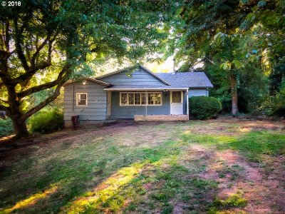 Single Family Home For Sale: 17700 SE Amisigger Rd