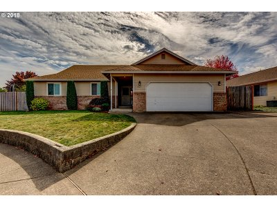 Canby Single Family Home Pending: 631 SE 6th Pl