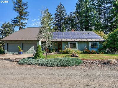 Canby Single Family Home For Sale: 10257 S Kraxberger Rd