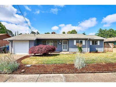 Keizer Single Family Home Sold: 5231 Arcade Ave