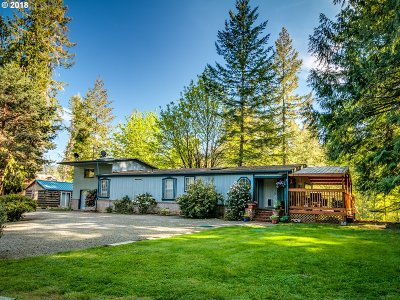 Molalla Single Family Home For Sale: 35558 S Dickey Prairie Rd