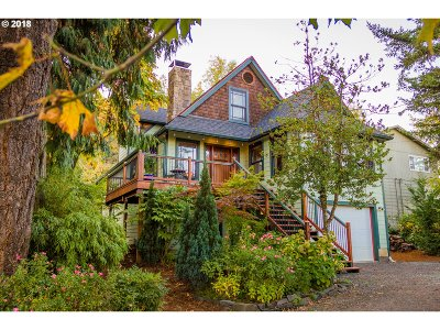 Eugene Single Family Home For Sale: 1526 Riverview St