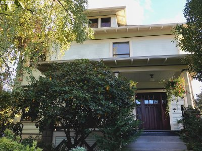 Clackamas County, Multnomah County, Washington County Single Family Home For Sale: 1534 N Jarrett St