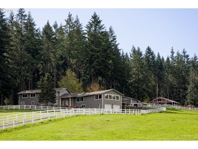 Creswell Single Family Home For Sale: 31748 Camas Swale Rd