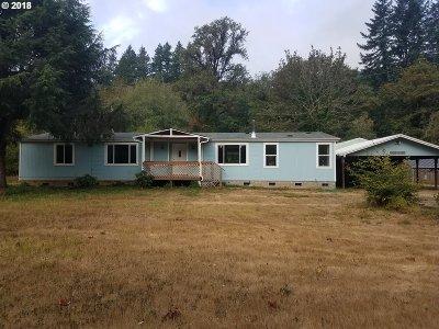 Veneta Single Family Home For Sale: 21710 Vaughn Rd