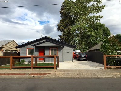 Springfield Single Family Home For Sale: 1059 20th St