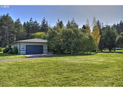 Bandon Single Family Home For Sale: 56100 Spring Creek Rd