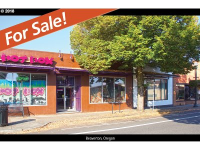 Beaverton Commercial For Sale: 4589 SW Watson Ave
