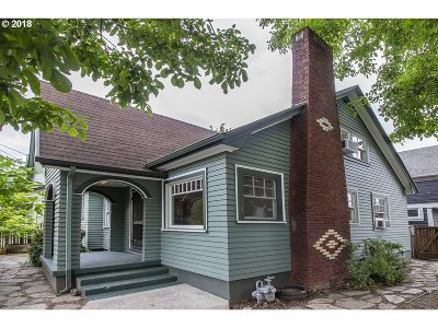 Single Family Home For Sale: 1334 N Alberta St