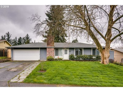 Beaverton, Aloha Single Family Home For Sale: 19695 SW Prospect St
